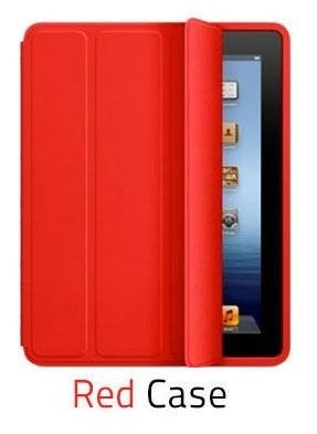 Etui Smart Case Apple iPad 2/3/4 - Red