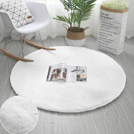 Dywan okrągły Rabbit Strado 180x180 White (Biały) Biały