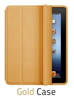 Etui Smart Case Apple iPad 2/3/4 - Gold
