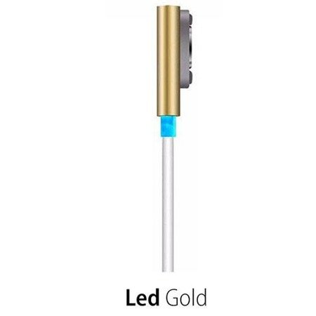 Kabel magnet. LED Xperia Z1 Z2 Z3 Compact - Gold